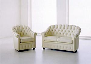 Divano chesterino di tino mariani divani e divani letto for Divano letto dimensioni ridotte