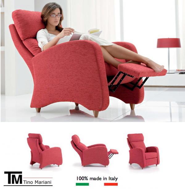 Poltrone Relax Made In Italy.Poltrona Relax Yama Di Tino Mariani Divani E Divani Letto Su