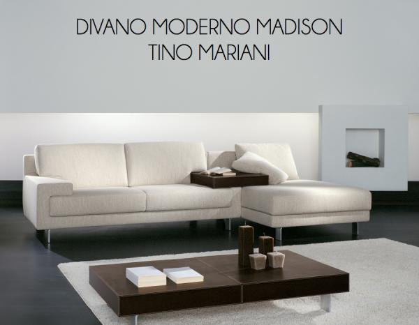 Divano Cuoio Moderno : Divani e complementi divano moderno madison tino